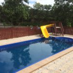 12m swimming pool